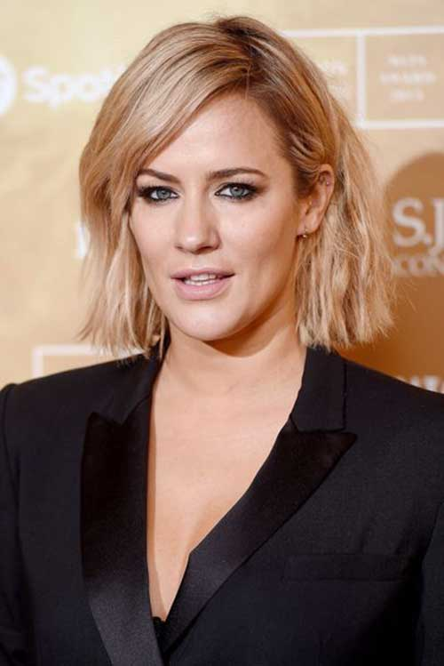 Celebrities with Short Hairstyles-8