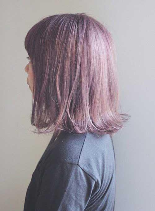 8.Cute Short Hairstyle 2014