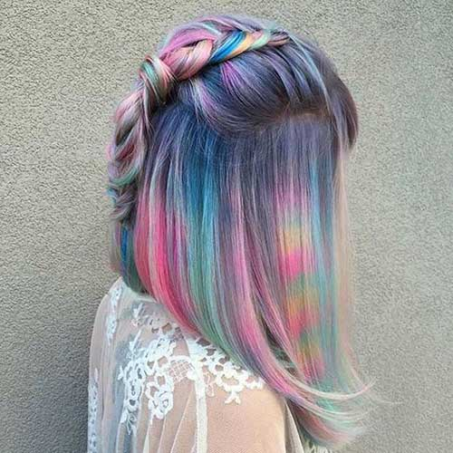 Hair Color for Short Hair-8