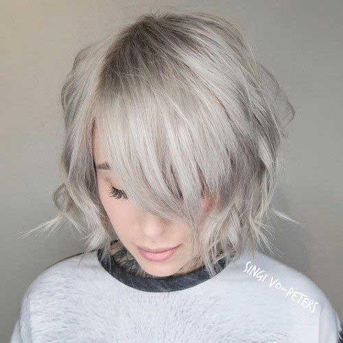 8.Layered Short Haircut