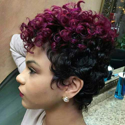 short hair styles for naturally curly hair 25 naturally curly hairstyles hairstyles 9390 | 8.Naturally Curly Short Hairstyle