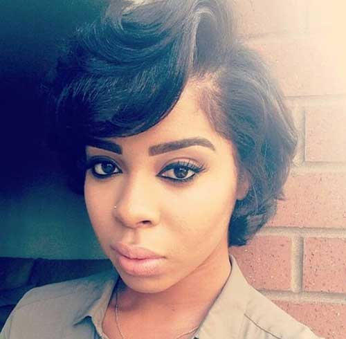 9.Black Ladies Short Hairstyle