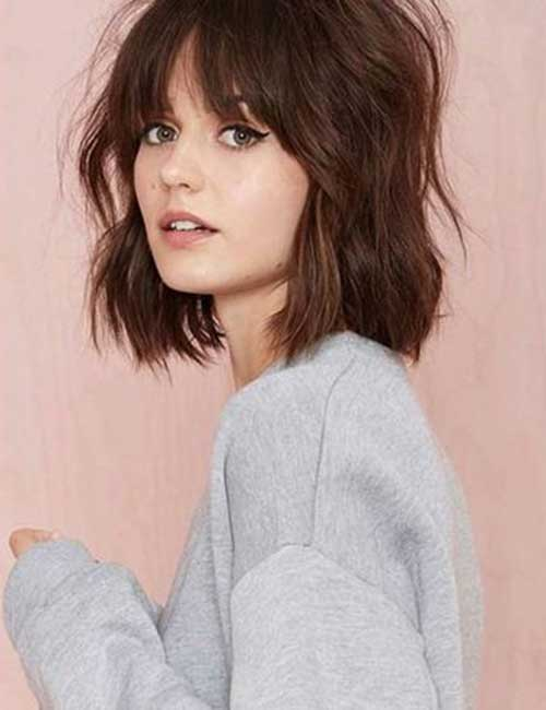 Brown Short Haircuts-9