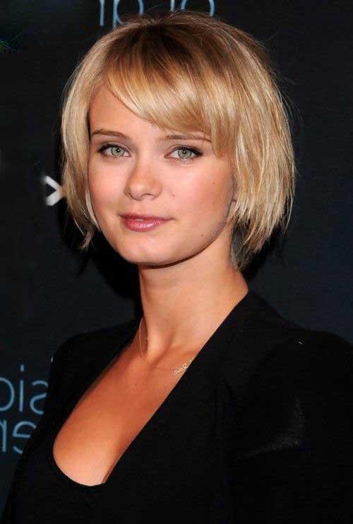9.Cute Short Hairstyle 2014