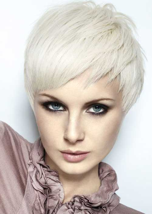 9.Hair Color Short Hair