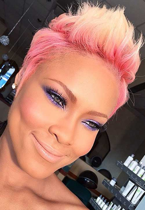20 Good Pink Pixie Cuts Short Hairstyles Amp Haircuts