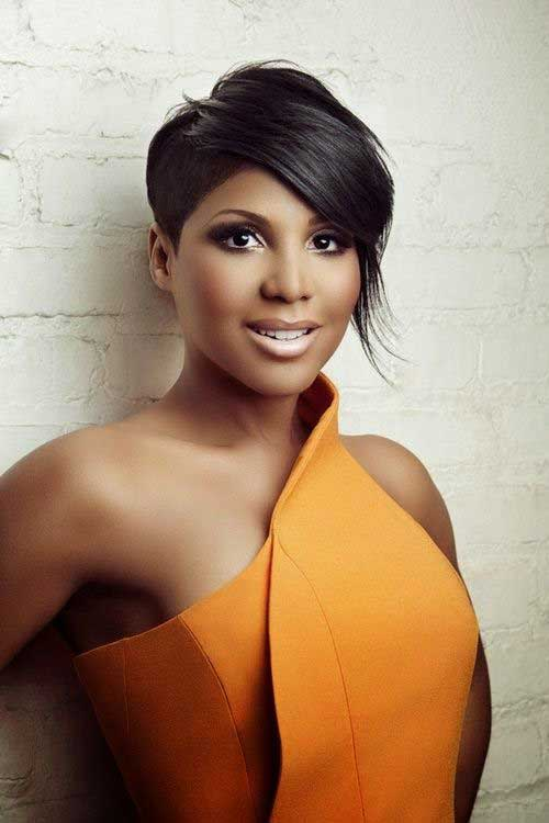 Pixie Hairstyles for Black Women-9