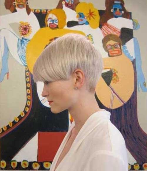 9.Short Haircut for Women 2016