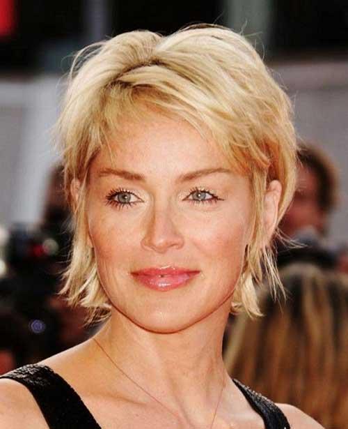 9.Short Haircut for Women Over 50