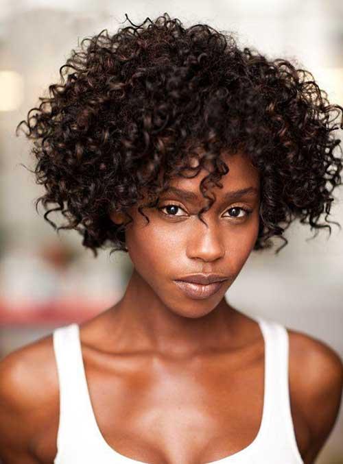 Best Short Curly Hair Black Women