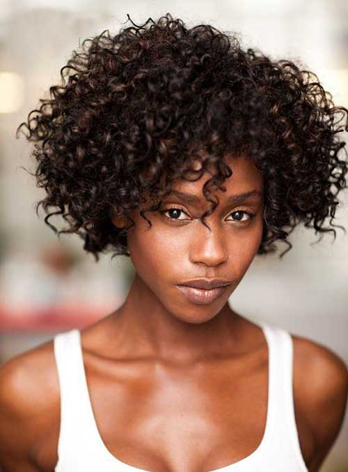 Cool 30 Short Curly Hairstyles For Black Women Short Hairstyles Short Hairstyles Gunalazisus