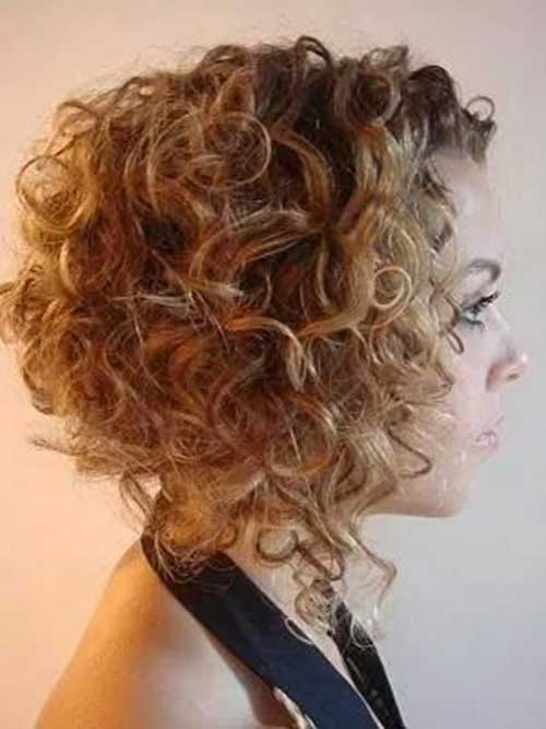 Really Pretty Short Curly Hairstyles Short Hairstyles