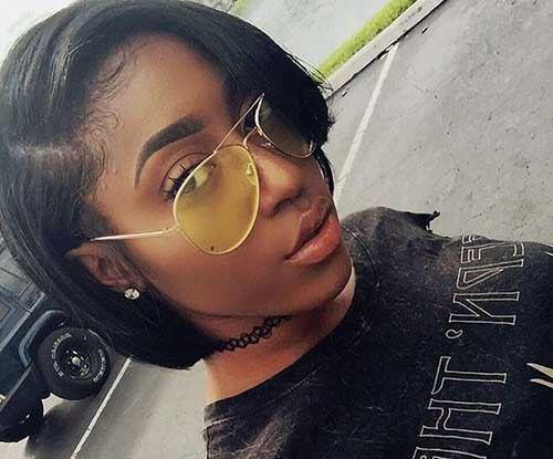 Black Women Short Hairstyle