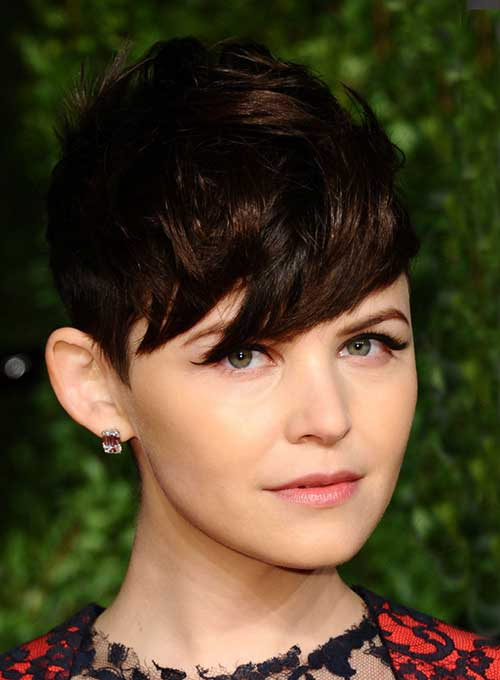 Ginnifer Goodwin Pixie Cut