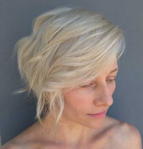 Hairstyle for Short Layered Hair