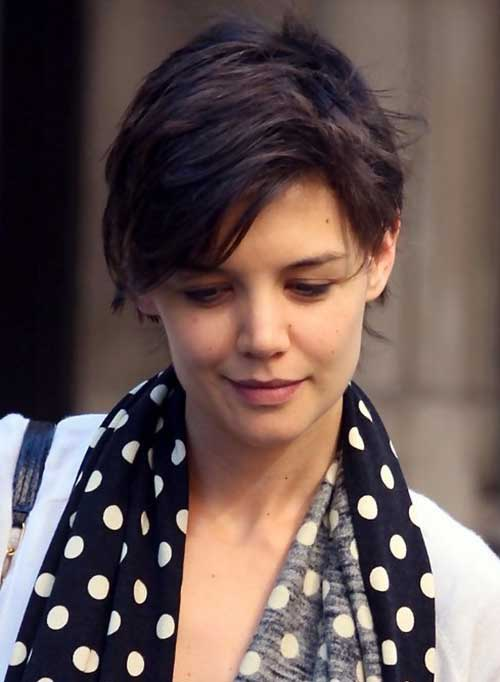 15 Best Katie Holmes Pixie Cuts Short Hairstyles
