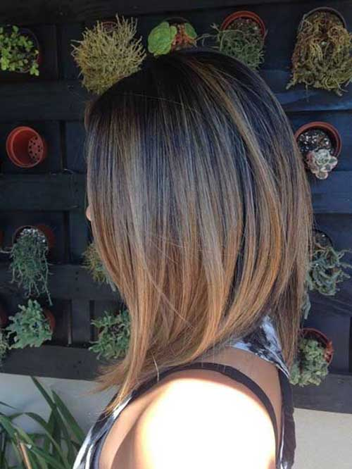 Latest Ombre Color for Short Hair