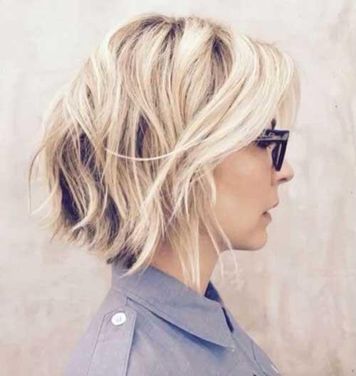 Layered Haircut for Short Hair