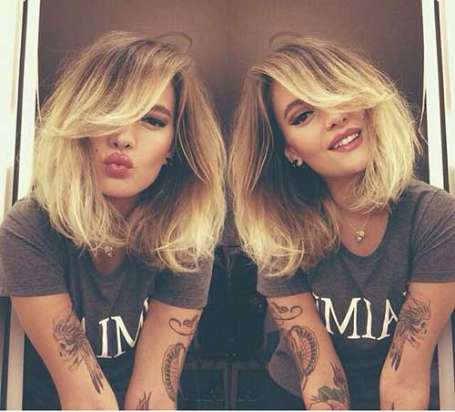 Nice Ombre Color for Short Hair