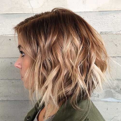 Ombre Color For Short Hair Short Hairstyles Haircuts 2019 2020