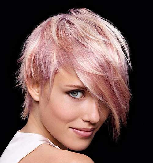 20 Good Pink Pixie Cuts