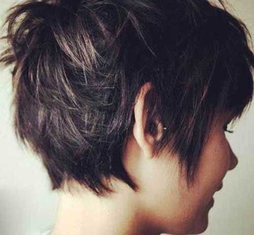 Pixie Haircut Back View Short Hairstyles Haircuts 2018 2019