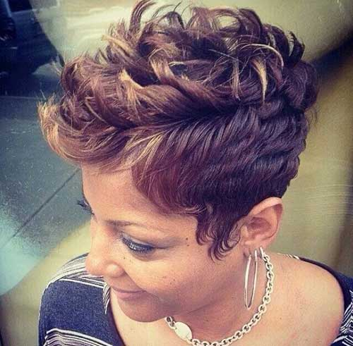 Pixie Haircut for Black Women