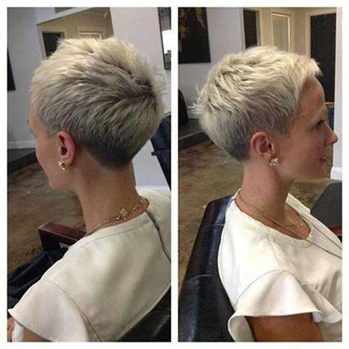 Short Pixie Haircuts Front And Back View Hair