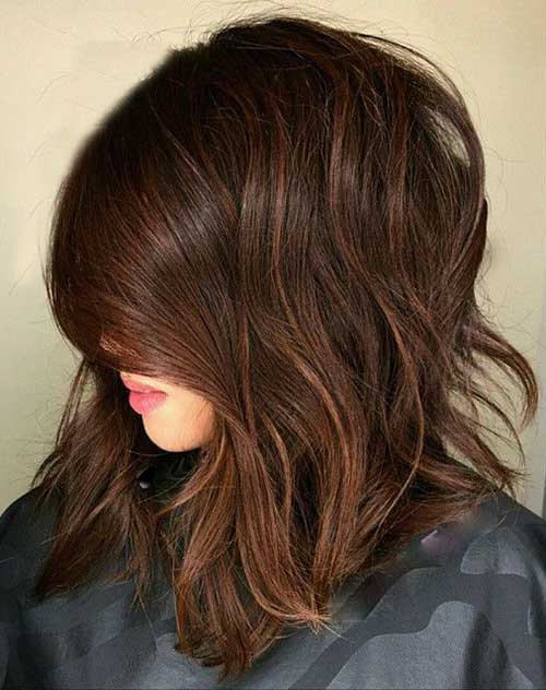 Short Brown Bob