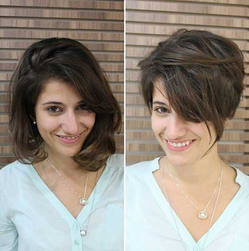 Short Brown Hair Color Ideas