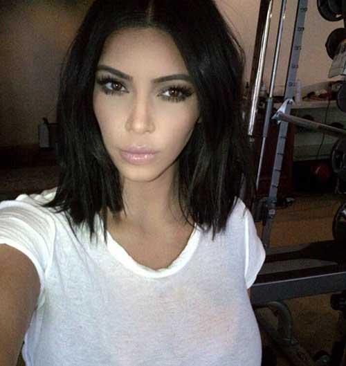 Short Haircut Brunette