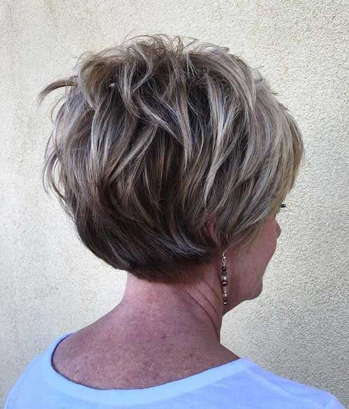 Short Haircuts Older Ladies