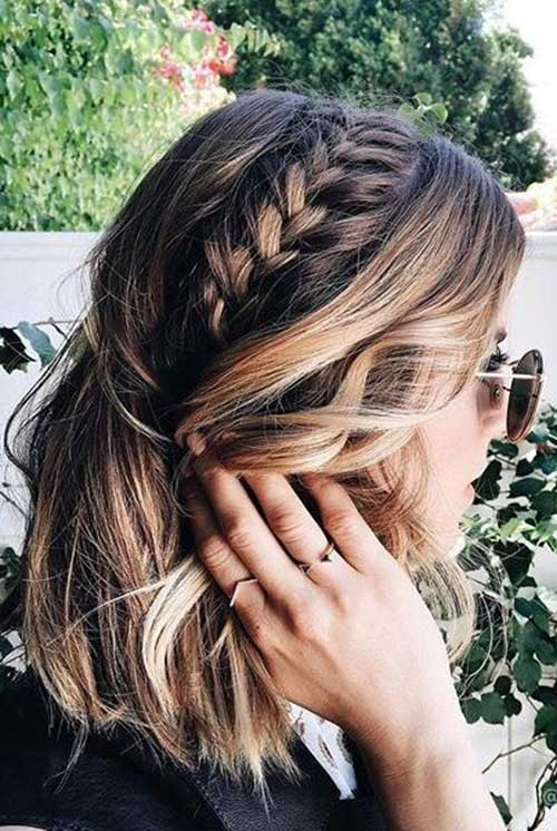 1. Braid For Short Hair