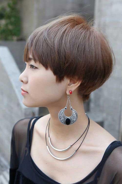 10. Cute Asian Pixie Cut