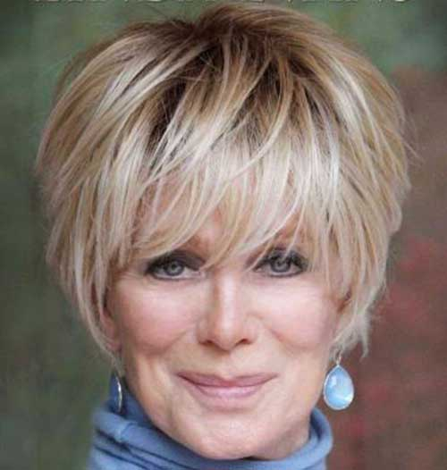 Short Hairstyles with Bangs-10