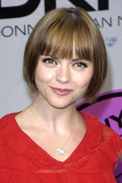 Short Hairstyles with Bangs-11