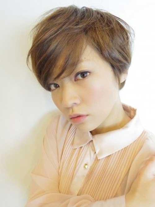12. Cute Asian Pixie Cut