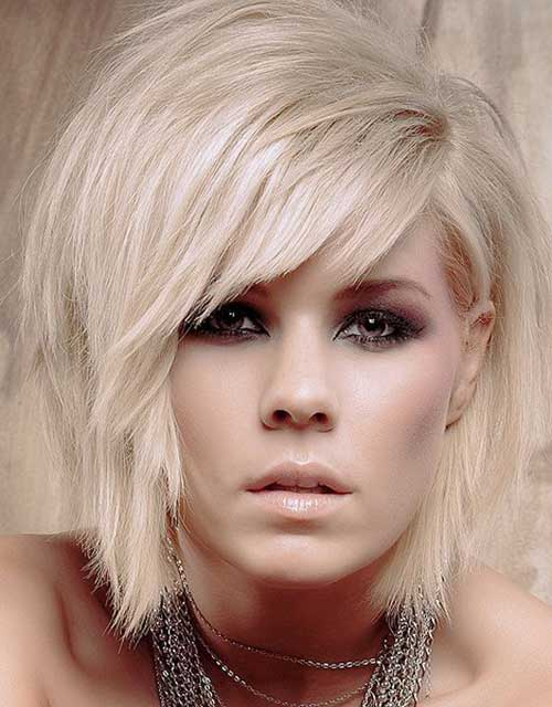 Hairstyles for Short Layered Hair-12