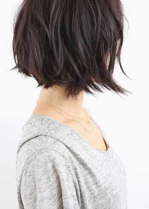 Hairstyles for Short Layered Hair-13