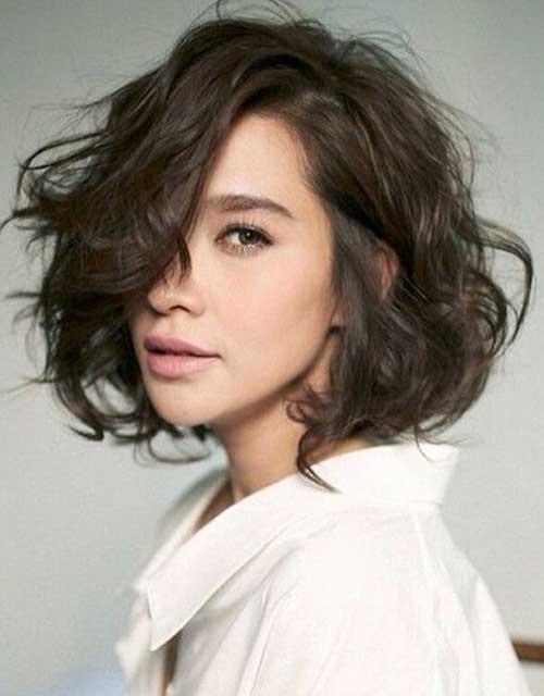 Short Wavy Hair-13
