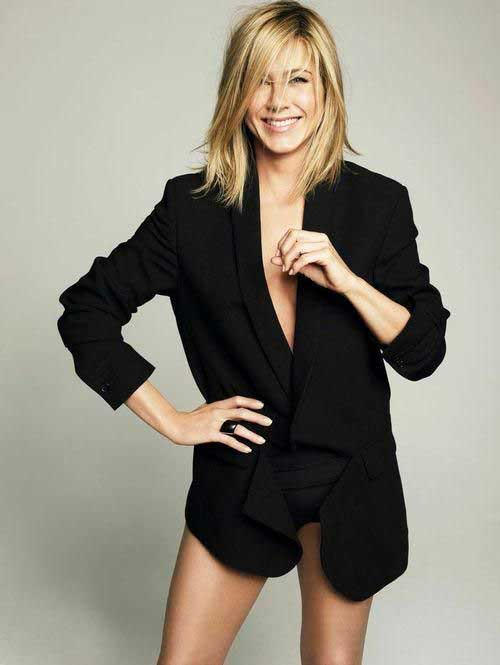 20 Jennifer Aniston Long Bob Short Hairstyles Amp Haircuts