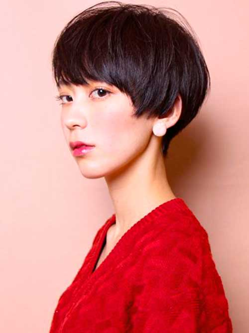 Cute Asian Pixie Cut-14