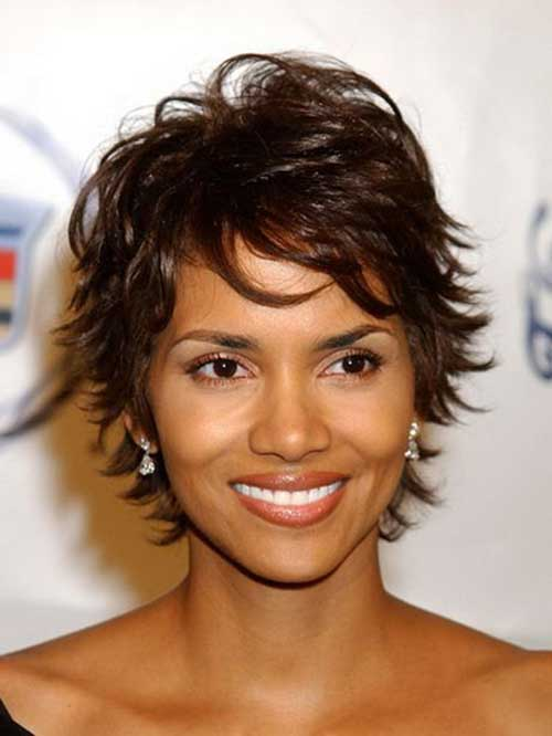Hairstyles for Short Layered Hair-14