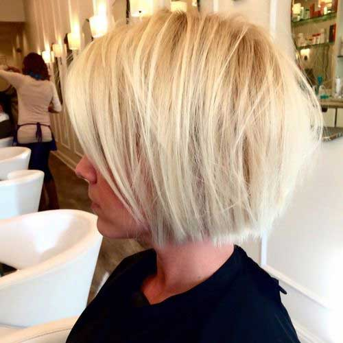 Short Blond Hair-14