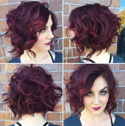 Short Wavy Hair-14