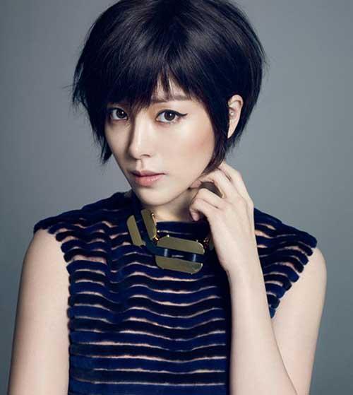15. Cute Asian Pixie Cut