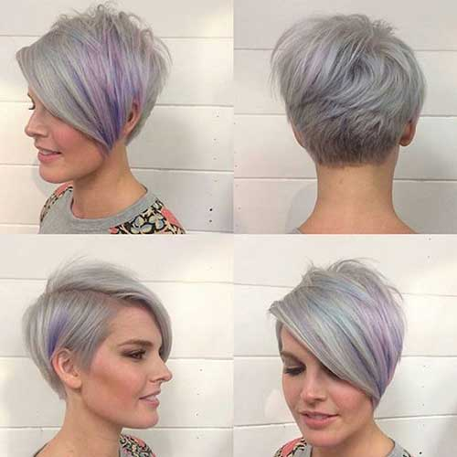 16.Cute Way To Style Short Hair