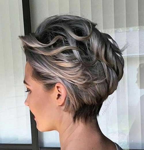 Short Wavy Hair-16