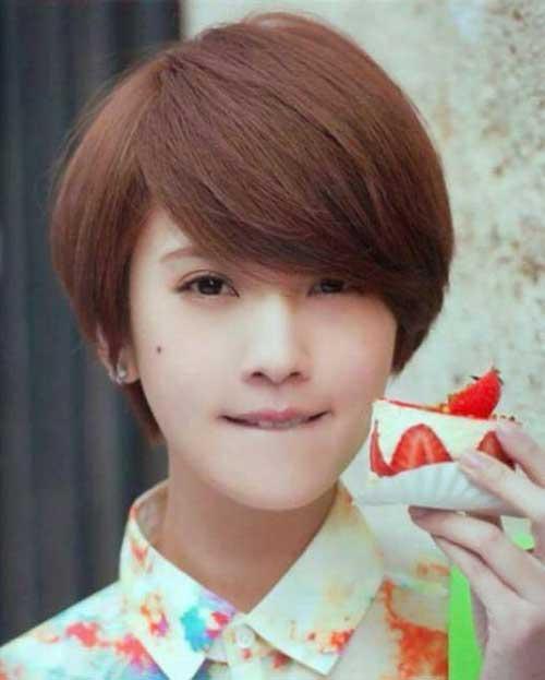 17. Cute Asian Pixie Cut