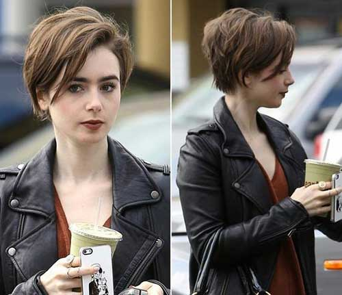 17.Cute Way To Style Short Hair
